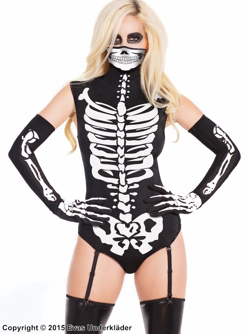 Skelett-body för maskerad a06de282606d8